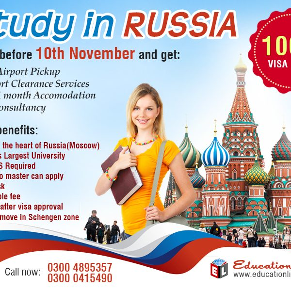Study in Russia